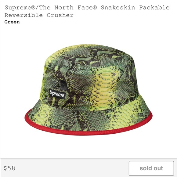 Supreme North Face Bucket Hat 7719b122d98